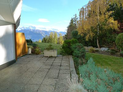 Photo for Apartment Terrasse des Alpes in Crans-Montana - 2 persons, 1 bedrooms