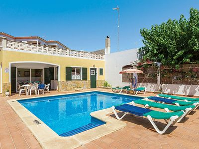 Photo for Comfortable villa & private pool, moments from a pretty sandy beach plus restaurants