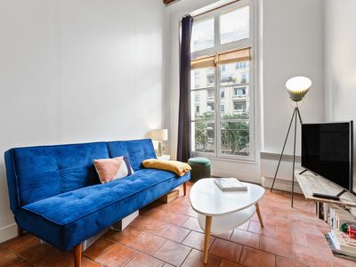 Photo for Stunning 1 Bed Apt w/Decorated int nr Marais