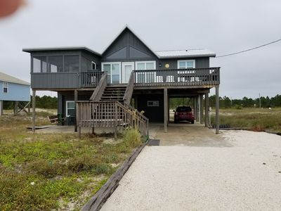 Photo for Grab a great deal! Beautiful beach house w/ game room. Dog friendly, sleeps 8