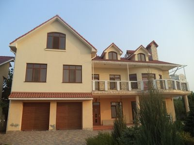 Photo for An elegant villa 1 km from the beach with spectacular views of the Black Sea
