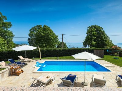 Photo for Beautiful villa with pool near Opatija