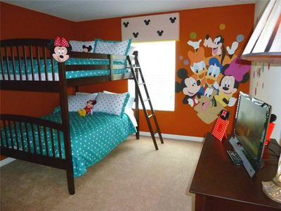 Photo for SOUTH FACING POOL, DISNEY THEME KID'S ROOM, FREE WIFI, RESORT COMMUNITY!!