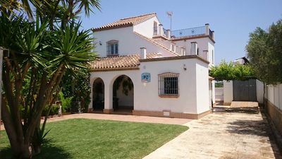 Photo for villa in Fuente del Gallo for 8-9 persons, with pool and garden