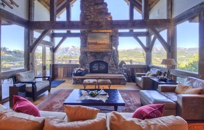Photo for Spectacular ski-in, ski-out lodge with hot tub, home theater, and plenty of space for large groups