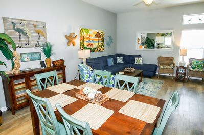 Dining Area - The open-concept living and dining areas make conversation easy.