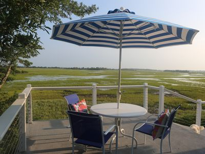 Photo for Spectacular views in Wild Dunes Resort, 20 mins from Charleston, with golf cart