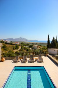 The Pool Terrace and View