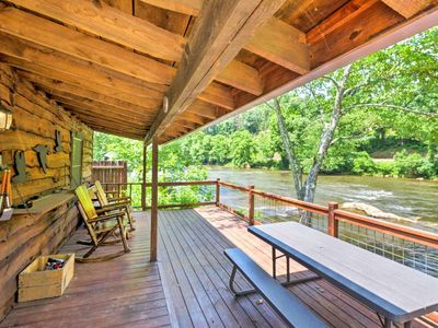 Photo for **SPECIAL- Relax & Renew in this Beautiful Cabin on the River!!! Free Wifi, ESPN