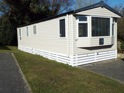 Photo for Luxury 6 berth caravan  situated on the popular Shorefield country park