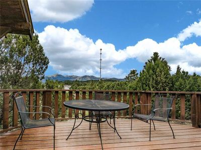 Photo for Log Heaven, 3 Bedrooms, Sleeps 6, Mountain Views, WiFi, Hot Tub, Fireplace