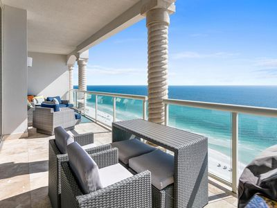 Photo for Luxury Penthouse - Indoor & Outdoor Heated Pools - Free Dolphin Cruise!