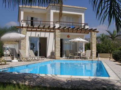 Photo for Luxury 3 bed villa in picturesque Cypriot village