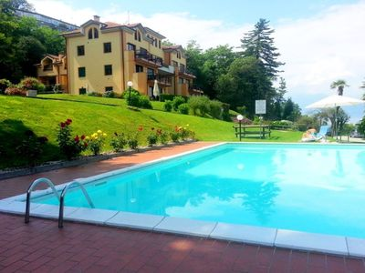 Photo for Tastefully furnished 3 bedroom apartment in a lakeside residence with pool