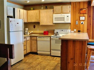 Photo for Mammoth Ski and Racquet Club #35, Pet Friendly Unit Facing the Forest and Mountains