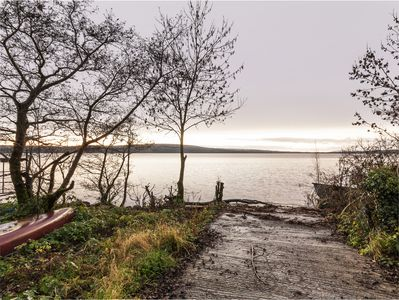 Views across Lough Allen from the property
