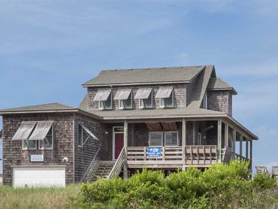 Photo for Capt. Brad's: Old Nags Head cottage style, oceanfront, elevator, rec room, YMCA amenities