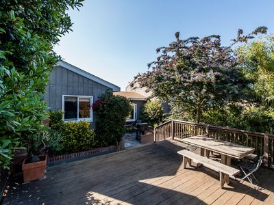 Photo for Dog-friendly home w/mountain views, quiet location next to Morro Bay State Park!