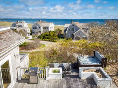 Photo for Stunning views, Hot Tub, Pool Table, Sauna, Private beach, Home Theater