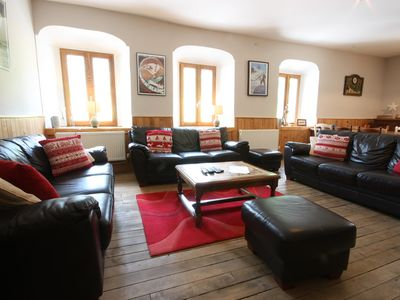 Photo for Unique, charming chalet with ensuite rooms, hot tub and games room