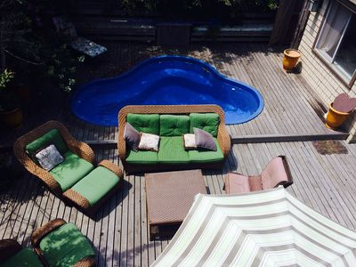 Photo for Steps to the Ocean, Pool, The Home with Everything.