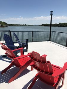 Photo for On the water Lakehouse, Waterfront Views, Open Water, - With Shade