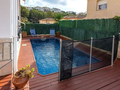 Photo for Nice apartment for 9 guests with private pool, TV and parking
