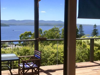 Photo for Hillstop Mallacoota - Pet Friendly with Lake Views