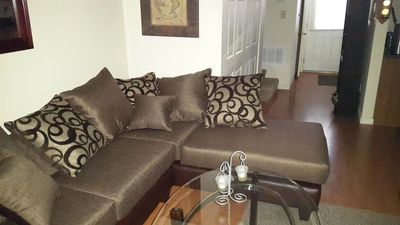 Newly remodeled and furnished living area