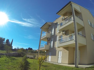 Photo for Modern, Comfortable apartment, 200m from the sea, wifi, Airco, balcony parking.