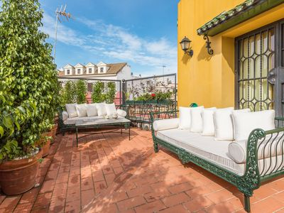 Photo for Elegant & classical duplex for up to 6 with a large private terrace