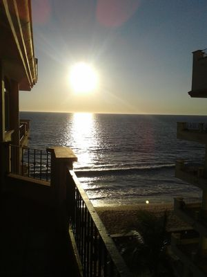 Photo for Beautiful ocean front 2 bd condo. Unforgettable sunsets. Feel the ocean breeze.'