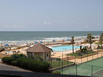 Photo for FANTASTIC OCEAN VIEW with Balcony! GREAT central location AND new beach frontage