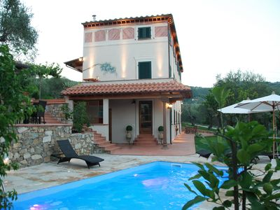 Photo for Apartment with swimming pool in Versilia. A stone's throw from the sea, from Lucca and Pisa