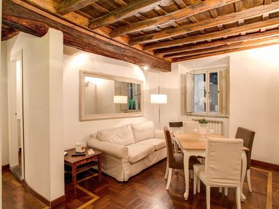 Photo for A light and fresh four-bedroom apartment for up to eight people, a short distance from the historic