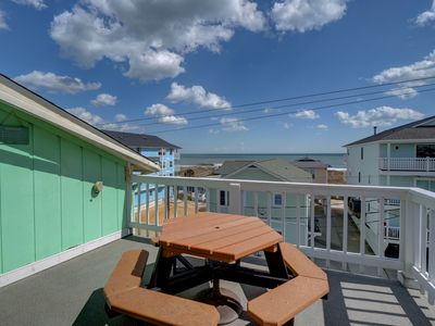 Photo for Tides II 3C - Gorgeous ocean view condo with pool