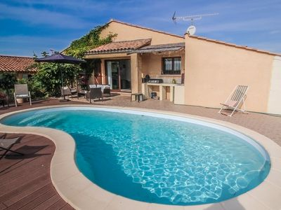 Photo for Holiday villa 7p; Margon Hérault Dpt, private pool
