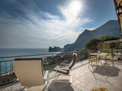 Photo for Butterfly Apartment with private sea-view terrace