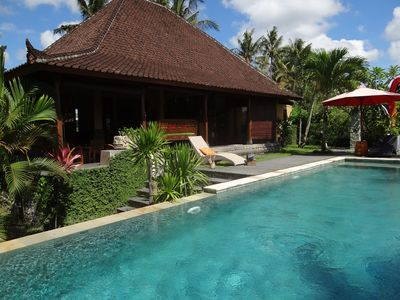 Photo for High satnding Villa, 6 persons, Ubud, Bali