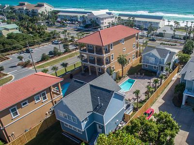 Photo for Beautiful Vacation Home in Crystal Beach w/ Private Pool & Carriage House!