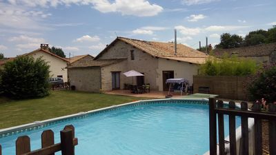 Photo for Spacious gîte with private garden and pool. Suitable for wheelchair users.