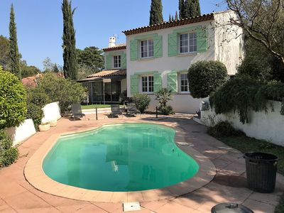 Photo for Beautiful Provencal Villa with Private Pool and Stunning View