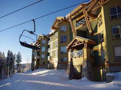 Photo for Legacy 102, one bedroom vacation rental, close to the Big White's centre