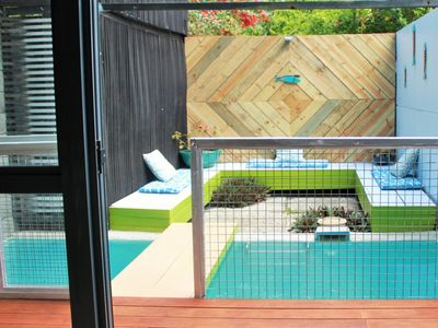 Photo for Tropical two bedroom townhouse with plunge pool