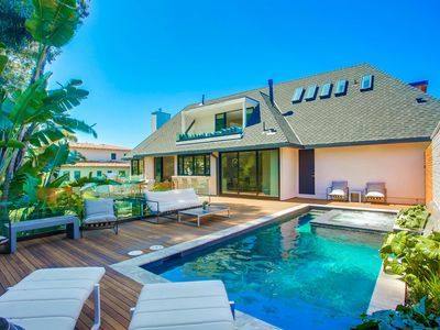 Photo for NEW La Jolla luxury home - Indoor/outdoor living w/ pool & spa! VERY CLEAN!