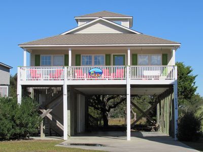 Photo for We Have It All! Ocean Views, The Pier,  Davis Canal, Bikes, Hammock, Small Dock