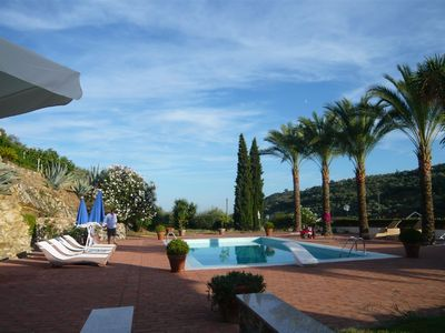 Photo for Spacious, secluded villa with exclusive ambience and private pool .....