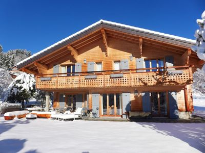 Photo for Vacation home Les 3 Soeurs in Villars - 8 persons, 4 bedrooms
