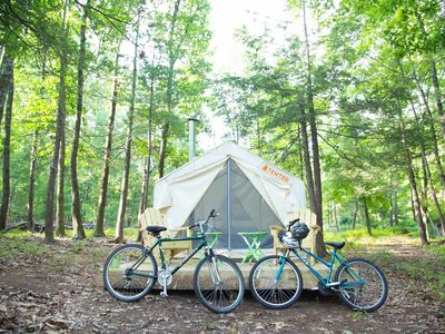 Photo for Tentrr Signature - Camp AnuLyfe: Treat yourself with our extras for a lovely spi