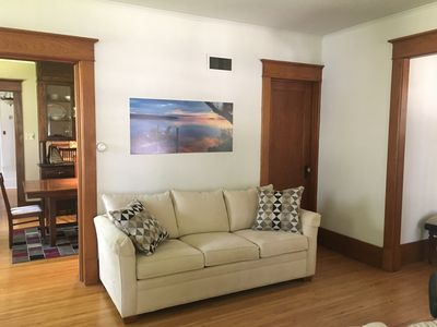Photo for Beautiful House downtown Green Lake close to the Boat Landing & Town Square